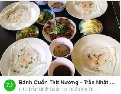 Bánh Cuốn Thịt Nướng -  E45 Trần Nhật Duật, Tp. Buôn Ma Thuột, Đắk Lắk