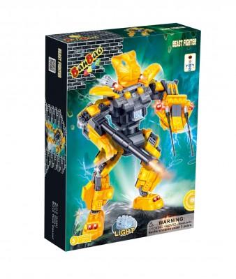 Bộ đồ chơi lắp ráp robot siêu nhân
