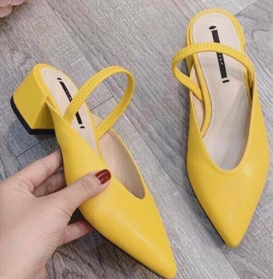 Giày búp bê cao 5cm