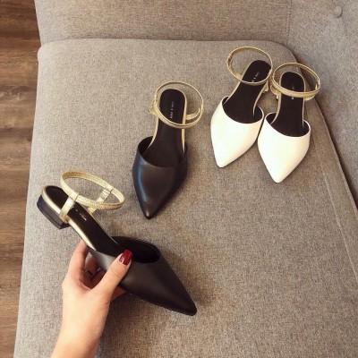 Giày búp bê quai hậu