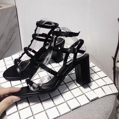 Giày cao gót 8cm quai đinh cực xinh
