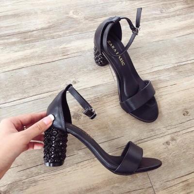 Giày cao gót khoá cài