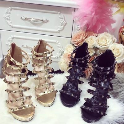 giày gót cao rọ 9cm - ship hàng toàn quốc