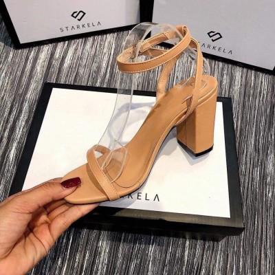 Giày đế vuông 8cm
