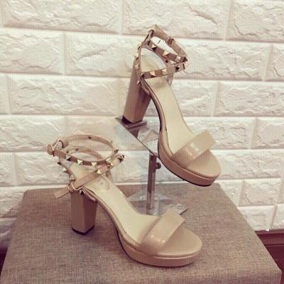 Giày Gót Vuông Quai Đinh - Giày dép xinh giá rẻ