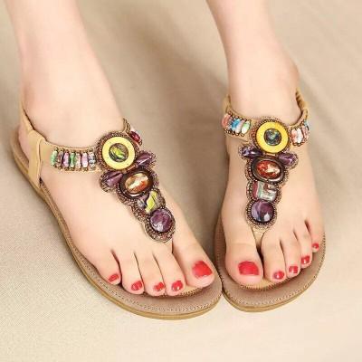 Giày nữ sandal đính đá