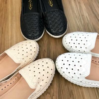 Giày lười đục lỗ - giá ưu đãi - ship hàng toàn quốc