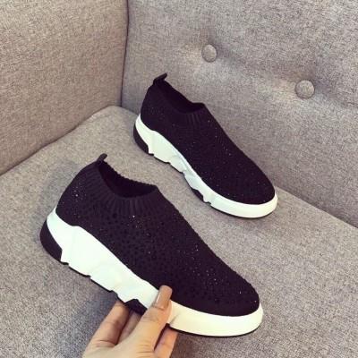 Giày lười viền sọc