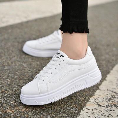 Giày vans hồng trắng
