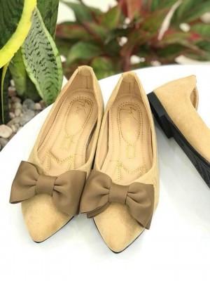 Búp Bê Nơ Đính Nơ | Giày búp bê màu đen giá rẻ