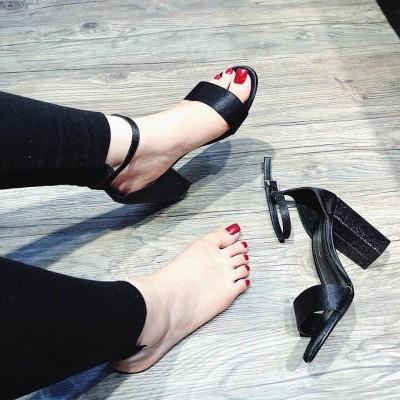 Giày gót cao mũi nhọn 8 phân