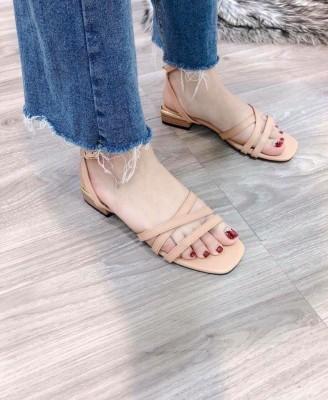 Giày xăng đan đế bệt - giày sandal 2019