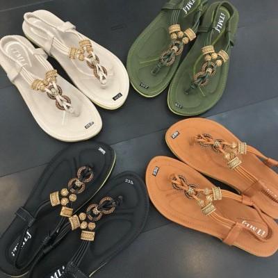 Giày xăng đan kết hạt gỗ - Thanh toán khi nhận hàng