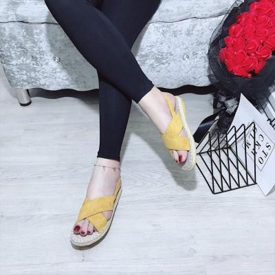 Giày xăng đan nữ đế bệt