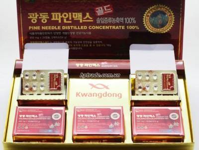 Tinh Dầu Thông Đỏ Hàn Quốc